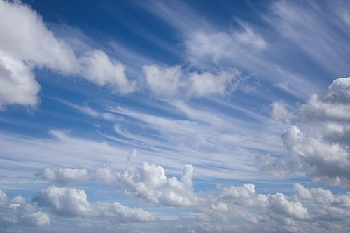 Clouds Wolken von Ronald van Kooten