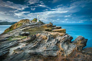 Castle Point Leuchtturm  Neuseeland