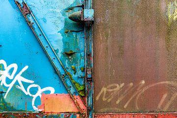 Nahaufnahme Güterwagen II von Evert Jan Luchies