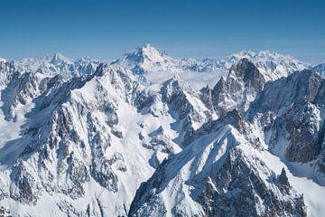 Alpen panorama van Menno Boermans