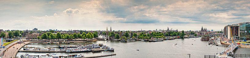Amsterdam panorama  van Dirk Thoms