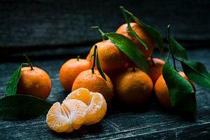 Prachtige mandarijnen  van Digital Curator