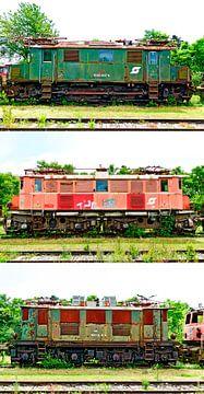 Electric locomotives van Leopold Brix