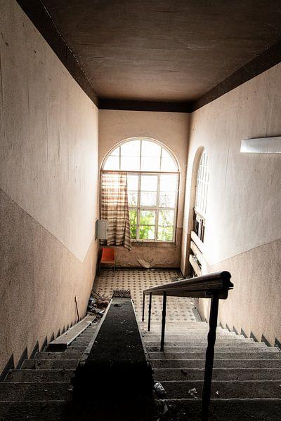 Verlaten trap van Franziska Pfeiffer