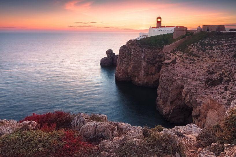 At the end of the world (Cabo de São Vicente / Algarve / Portugal) van Dirk Wiemer