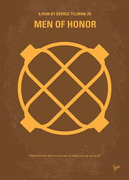 No099 My Men of Honor minimal movie poster van Chungkong Art