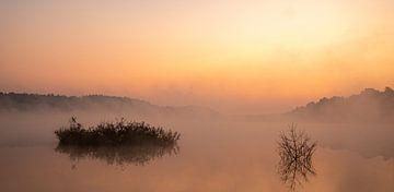 zonsopgang, landschap van Joep Deumes
