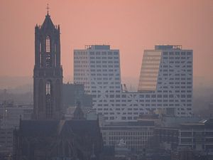 Dom Utrecht en Stadskantoor van
