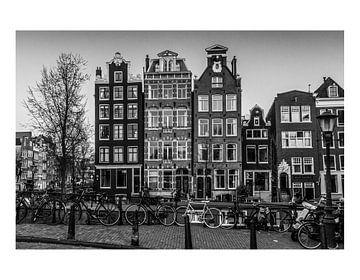 Rijtje Grachtenpanden Herengracht van koennemans