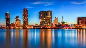 Rotterdam vanuit Katendrecht