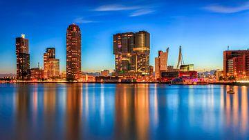Rotterdam vanuit Katendrecht sur Roy Poots