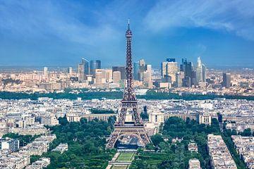 Paris Skyline von Melanie Viola