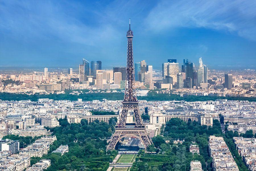 Skyline Van Parijs van Melanie Viola