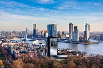 De Kop van Zuid in Rotterdam van Evert Jan Luchies