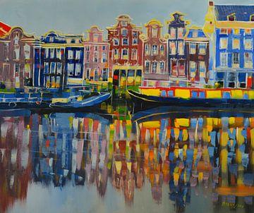 Jean - Amsterdam reflectie von Branko Kostic