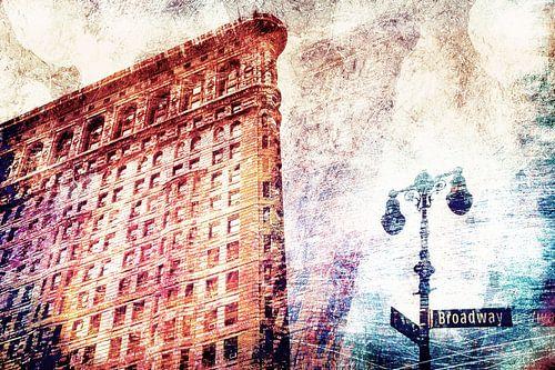 Abstract Flatiron Building NYC II