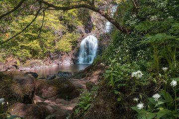 Rha Wasserfälle, Isle of Skye von Roelof Nijholt