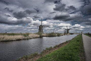 Niederländische Mühlen von Jo Beerens