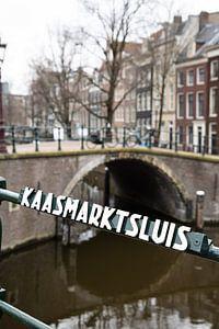 Amsterdam Brücke und Schleuse