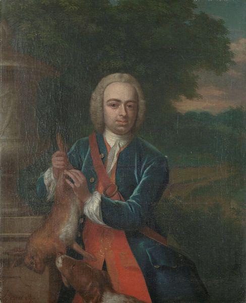 Portrait von Adriaen Caspar Parduyn, Philip van Dijk von Meesterlijcke Meesters