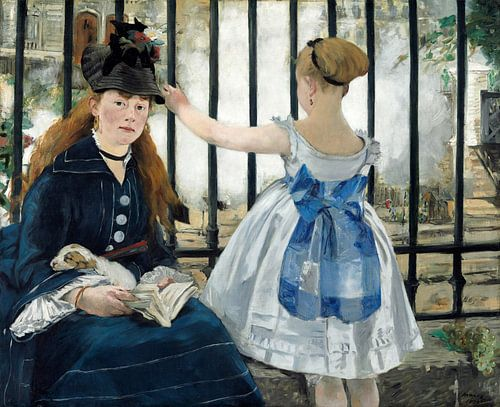 Die Eisenbahn, Edouard Manet von Liszt Collection