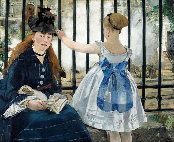 het spoor, Edouard Manet van Liszt Collection