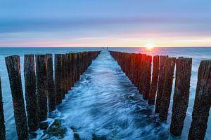Moving ocean Westkapelle van Tom Hengst