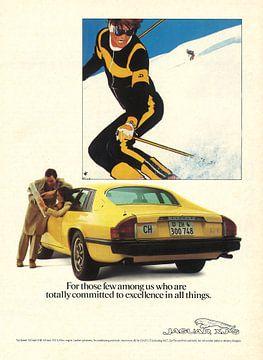Vintage Werbung 1978 JAGUAR. XJ-S von Jaap Ros