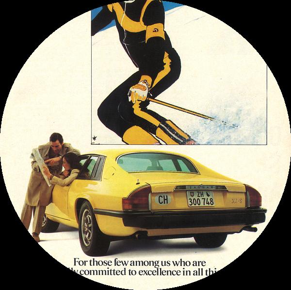 Vintage advertentie 1978 JAGUAR XJ-S van Jaap Ros