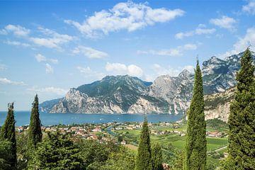 GARDASEE Panoramablick  von Melanie Viola