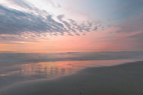 Pastelkleuren op t strand