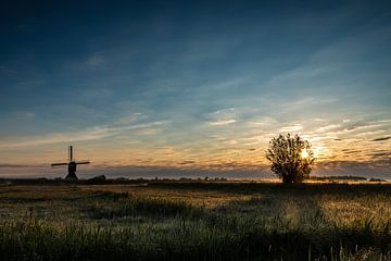 Mühle bei Streefkerk von René Groenendijk