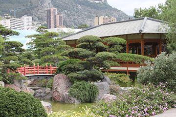 Aziatische tuin Monaco von Laura van Hulten