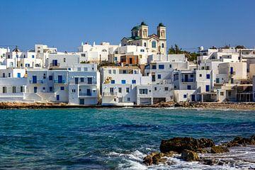 Naousa op Paros, Griekenland van Adelheid Smitt