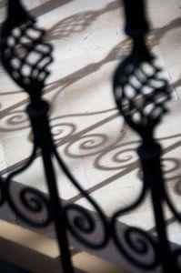 Sfeerfoto van Marokkaans sierhek