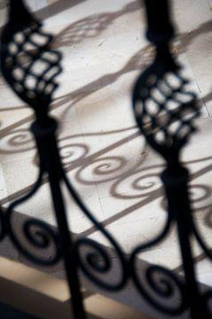 Sfeerfoto van Marokkaans sierhek sur Keesnan Dogger Fotografie