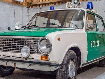 Politieauto uit de voormalige DDR van Animaflora PicsStock