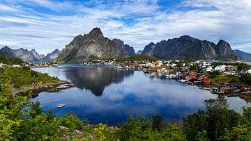 Reine, Lofoten, Noorwegen van Adelheid Smitt