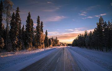 Les routes glacées sur Michel de Jonge