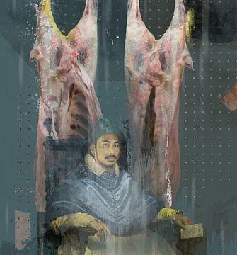 eerbetoon aan Bacon sur Dray van Beeck