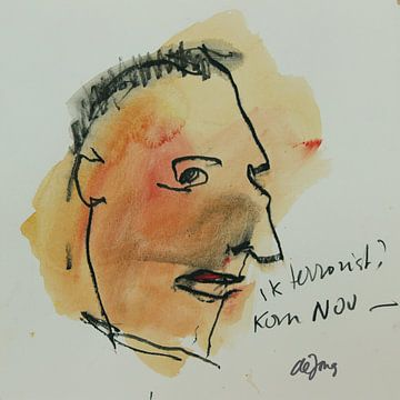 Albert, portret, avatar von Leo de Jong