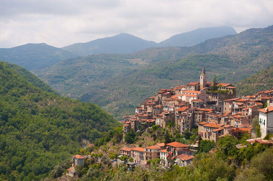 A Mountain Village in Italy van Brian Morgan