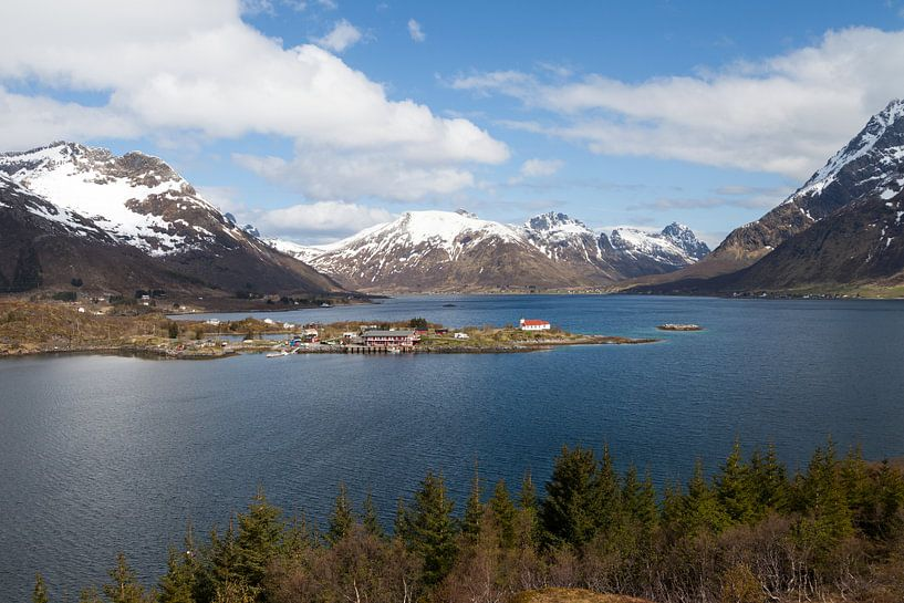 Berglandschap van Irene Hoekstra