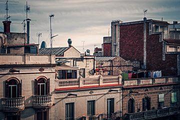 Barcelona - Dachlandschaft sur Alexander Voss