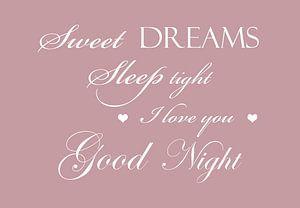 Süße Träume - Rosa