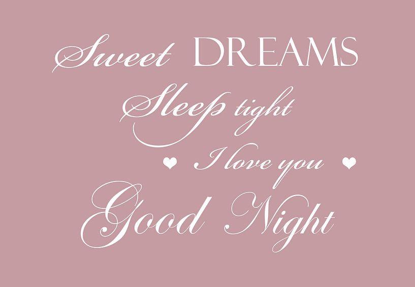 Süße Träume - Rosa von Sandra Hazes