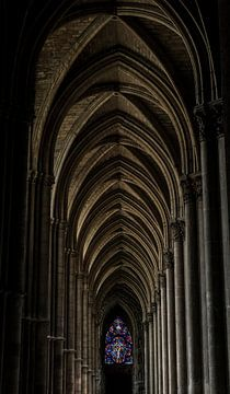 Kerkgang Reims von Michael van der Tas