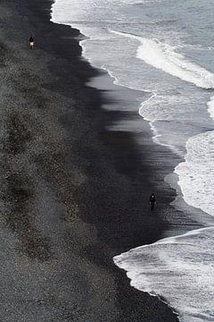 Zwart Strand von Ronald Jansen