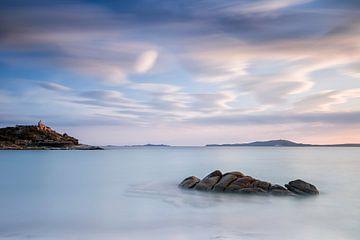 Zonsondergang Sardinie van Ineke Nientied