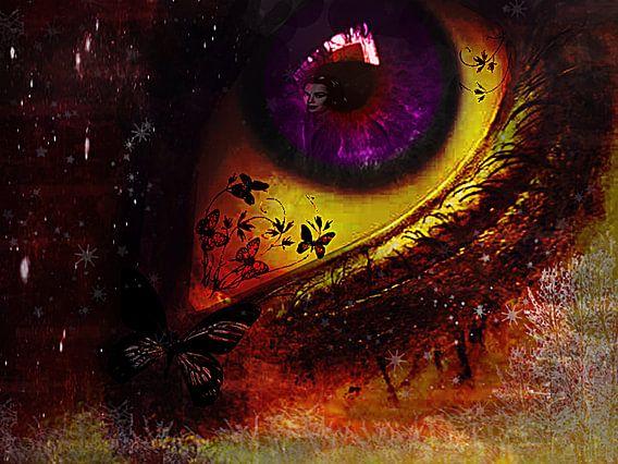 Fairy_night_eye_ van Yvon van der Wijk